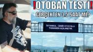 İstanbul-İzmir otoyolu 3.5 saat değil, 5 saat sürdü