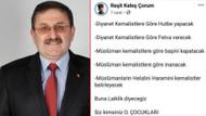 AKP'li üyeden Diyanet'i eleştirenlere: O. çocukları