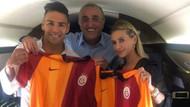 Falcao'nun Galatasaray formasıyla ilk pozu