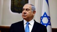 Netanyahu'nun mitinginde roket alarmı: Apar topar sığınağa götürüldü!