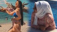 Gelin adayı Hanife'den bikinili mesaj: Bakın bakalım görebilecek misiniz?