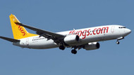 Pegasus uçağı havada arıza yaptı