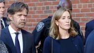 Rüşvet skandalına adı karışan ünlü oyuncu Huffman'a hapis cezası