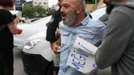 AK Parti önünde eylem yapmak isteyen KHK'lı işçi gözaltına alındı