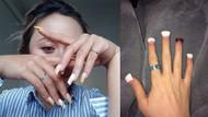 Yeni manikür trendi: Kore'den çıkan asimetrik törpülü tırnaklar