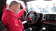 Recep Tayyip Erdoğan BMC'nin yerli pikabını test etti