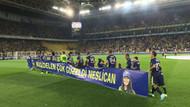 Fenerbahçe-Ankaragücü maçında Neslican Tay'a veda