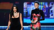 Kendall Jenner ve Kim Kardashian Emmy Ödülleri'nde alay konusu oldu