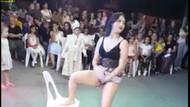 Sünnet düğününde yarı çıplak dans eden kadın için suç duyurusu