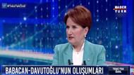 Akşener: Bizden bir miktar oy Davutoğlu'na gidiyor