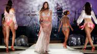 Paris Moda Haftası'ndaki Etam iç çamaşırı defilesinden kareler