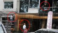 Deniz Çakır işçileri balkondan fırçaladı