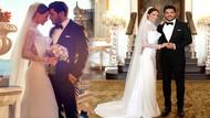 Ebru Şallı ile Uğur Akkuş Çırağan Sarayı'nda evlendi