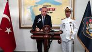 Yunan Dışişleri Bakanı'ndan Erdoğan'ın fotoğrafına olay tepki!