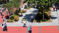 Ankara'da yenilenen Sakarya Kent Meydanı açılıyor