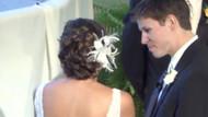 Amerikalı çift düğünlerinde yaşadığı komik diyaloğu anlattı