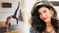 Berrak Tüzünataç yoga eğitmeni oldu