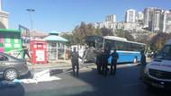 Ankara'da özel halk otobüsü durağa girdi! 3 kişi hayatını kaybetti