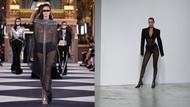 Moda tutkunlarını bir araya getiren Paris Moda Haftası'ndan kareler