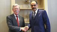 Cumhurbaşkanlığı Sözcüsü Kalın, John Bolton ile görüştü