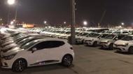 İBB'nin kiraladığı yüzlerce araç gece yarısı Yenikapı'ya getirildi