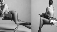 İrina Shayk Calvin Klein adlı marka için soyundu