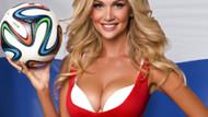 2018 FIFA Dünya Kupası'na damga vuran güzel: Victoria Lopyreva