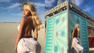 Güzel model Demi Rose'un seksi Khaleesi kostümü mest etti