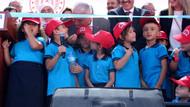 Erdoğan'dan Yıldırım'ı seviyorum diyen öğrenciye: Ama beni kıskandırıyorsun