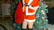 Ece Maya Filiz'den seksi Noel kız pozları!