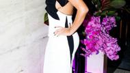 Kim Kardashian partiye bu dekolteyle gitti!