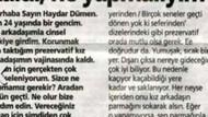 HAYDAR DÜMEN'E İLGİNÇ SORULAR!