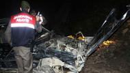 AKP konvoyunda kaza... 1 ölü
