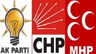 İstanbul, Ankara, İzmir'de hangi parti önde?