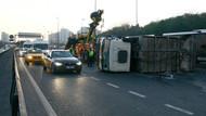İstanbul'u felç eden kaza