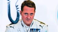 Schumacher'in düştüğü anı telefonla çektim
