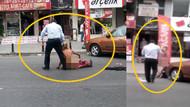 Polis çağıralım deyince çırılçıplak soyundu