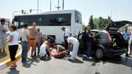 Opera sanatçıları kaza yaptı: 2'si ağır 5 yaralı