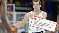 Basketbol dünyasını sarsan tweet!