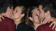 Sercan Badur'u öpmeye doyamadı