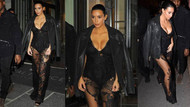 Kardashian'ın transparanı bir daha baktırdı..