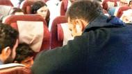 Uçakta ilk müdahale Ferhat Göçer'den