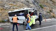 Sınıra giden polisler kaza yaptı: Çok sayıda yaralı
