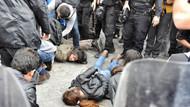 IŞİD protestosuna yaka paça gözaltı