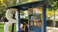 İETT duraklarında kütüphane hizmeti