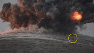 IŞİD'in ele geçirdiği tepe bombalandı