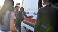 Ebru Şallı trafik kazası geçirdi!