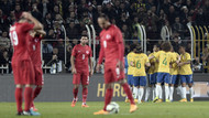Türkiye 0-4 Brezilya Kadıköy sambası
