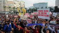 İzmir'de taraftarlar stadyum için ayaklandı