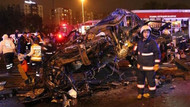Metrobüs bariyerleri parçaladı, 1 kişi öldü